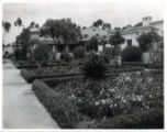 Grace Scripps Clark Hall and gardens, Scripps College
