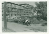 Construction of Mudd/Blaisdell Hall, Pomona College