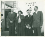 Gibson Hall dedication, Pomona College