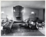 Kimberly Hall living room, Scripps College