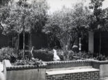 Seal Court fountains, Scripps College