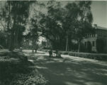 Pearsons Hall and College Avenue, Pomona College