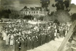 Carnegie Hall Library cornerstone laying ceremony, Pomona College