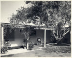 Revelle House courtyard