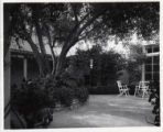 Revelle House patio