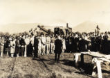 Toll Hall groundbreaking