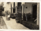 """Inner Patio Toll - Scripps College - Claremont, Calif."""