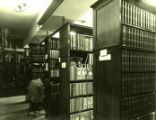 Carnegie Hall Library stacks, Pomona College