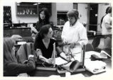 Students in a lab, Pitzer College