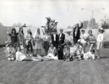 Students in costume, Pitzer College