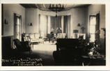 Toll Hall living room