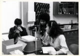 Students in a science lab, Pitzer College