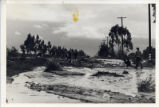 Foothill Boulevard during 1938 flood