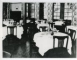 Claremont Inn dining room, Pomona College