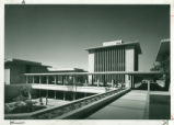 Sprague Library and Hixon Court, Harvey Mudd College