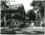 Claremont Inn and women, Pomona College