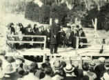Clark Hall groundbreaking, Pomona College