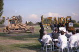 Linde Residence Hall groundbreaking ceremony, Harvey Mudd College