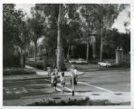 Intersection of Sixth Street and College Avenue, Pomona College