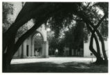 Clark Hall courtyard, Pomona College