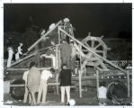 Homecoming float construction, Harvey Mudd College