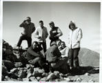 Students on Mt. Baldy, Harvey Mudd College