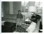 Women's dormitory room, Pomona College