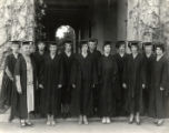 Mortar Board members, Pomona College
