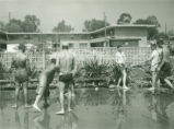 Water fight, Harvey Mudd College