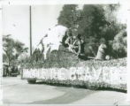 Homecoming float, Harvey Mudd College