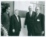 Phillips Hall dedication, Claremont McKenna College