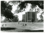Parents' Field and tower dormitories, Claremont McKenna College