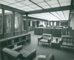 Sprague Library interior, Harvey Mudd College