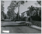 College Avenue and Holmes Hall, Pomona College