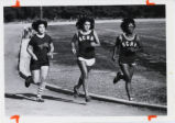 Cross country runners, Scripps College