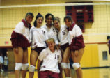 Volleyball team, Scripps College