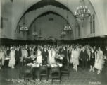 First Dinner Dance in Frary Hall, Pomona College