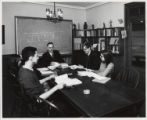 Students in class, Scripps College
