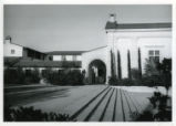 Frary Dining Hall and Bixby Plaza, Pomona College
