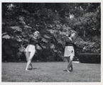 Dancers, Kenna Lois Hunt and Mary Rhees, Scripps College