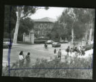 College Avenue intersection, Pomona College
