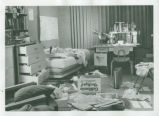Dorm room interior, Harvey Mudd College