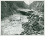 Bridge washout, Claremont