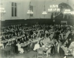 Banquet in Frary Dining Hall, Pomona Collge