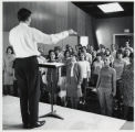 Choir rehearsal, Scripps College