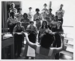 Choral students, Scripps College