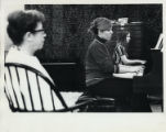 Piano students, Scripps College