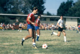 Soccer game, Claremont McKenna College