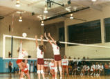 Volleyball game, Claremont McKenna College