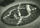 Harwood Court fountain, Pomona College